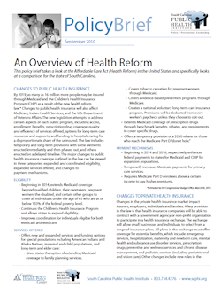an overview of the health care 1 an overview of the canadian health care system public solutions make our public health care stronger 1 by matthew p sawyer, qian gao, yue dong, and zhi xiang chen.